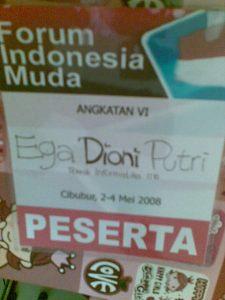 ini name tag Dioni