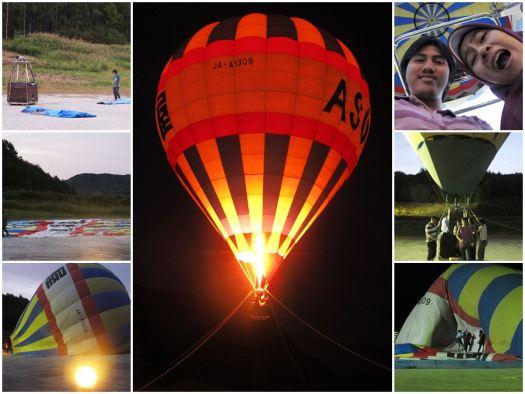 Terbang dengan balon udaraku