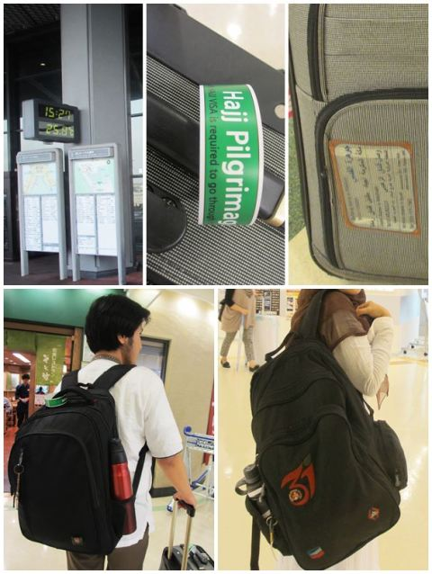 "Ready to go! Bawaan kami cukup simpel: 1 tas ransel untuk tiap orang, 1 koper ukuran kabin berisi barang-barang penting, dan 1 koper besar di bagasi berisi barang-barang yang ""ikhlas jika hilang"" :razz:"