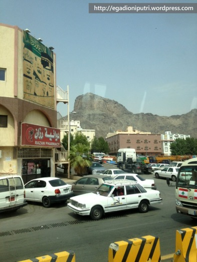 Market around Jabal Nur area