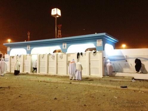 Toilet and bathroom in Muza