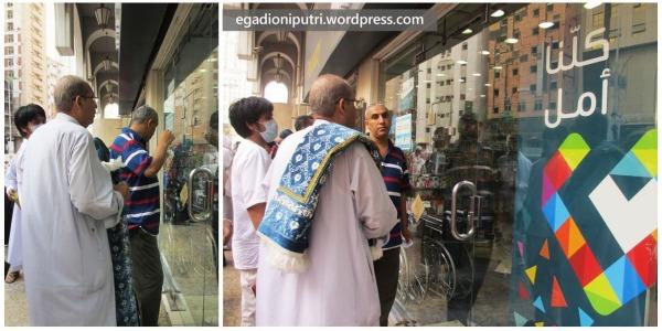 Kunjungan kedua ke Nahdi Pharmacy, setelah ini ada tiga kali lagi kunjungan ke sini :D