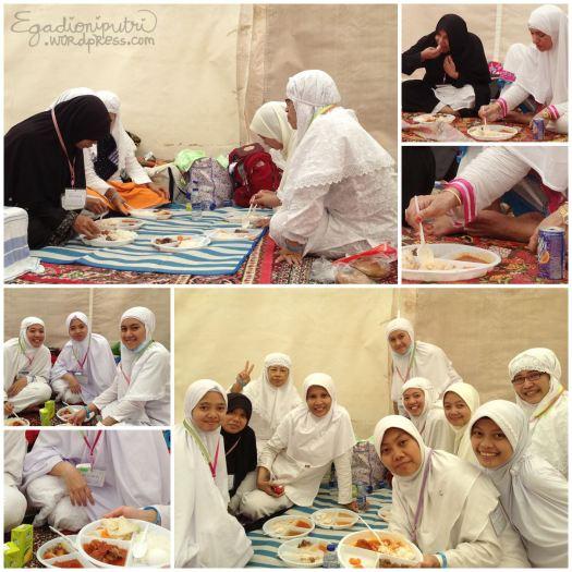 7.1 - hajj lunch in Mina