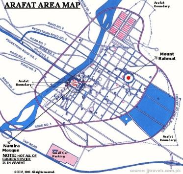 8.0 - Arafat map