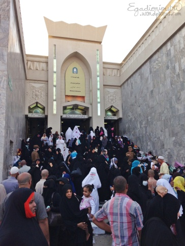 10.8 - Mosque Al Khayf women prayer area entrance