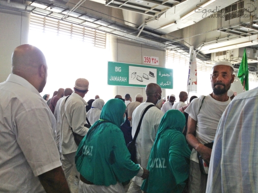 It's time for Big Jamarat! (aka al-Kubra)